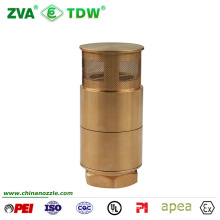 Tdw Brass Foot Check Valve for Fuel Dispenser Transfer Pipe 1-1/2""